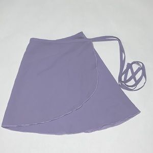 Mirella ballet wrap skirt